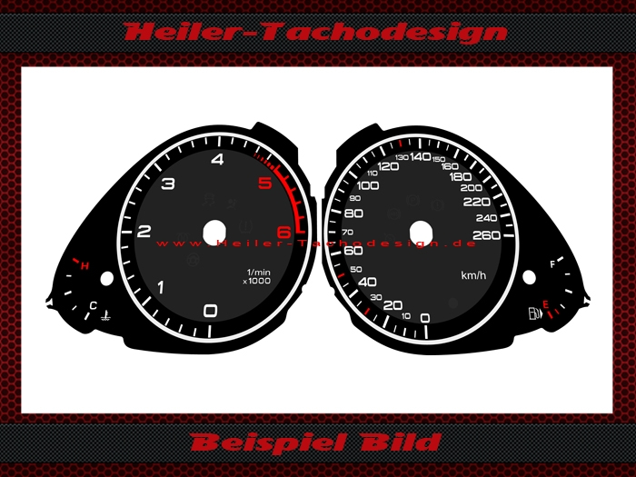 dials for conversion of us models audi 79 99. Black Bedroom Furniture Sets. Home Design Ideas