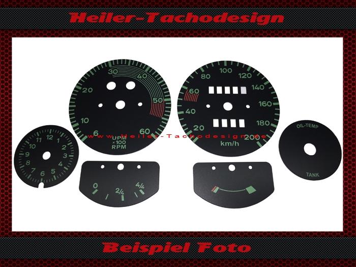 dials porsche oldtimer for the conversion of us models 199 99. Black Bedroom Furniture Sets. Home Design Ideas