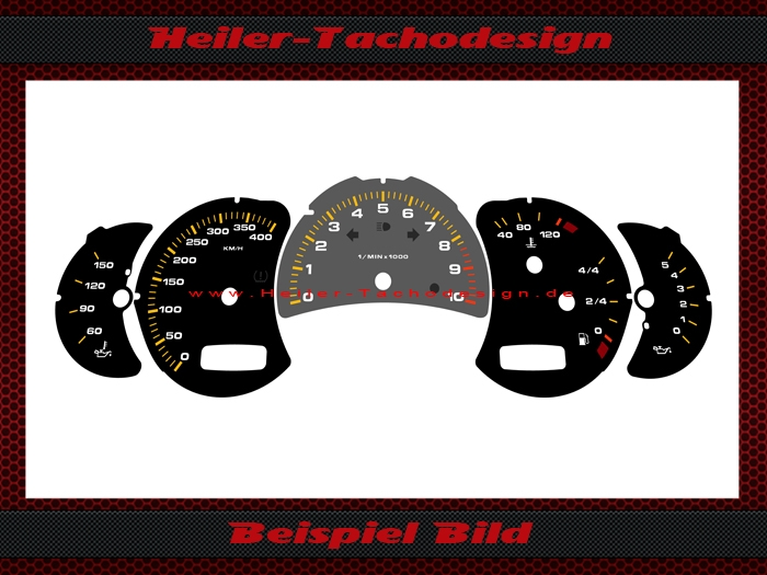 dials for conversion of us models porsche 119 99. Black Bedroom Furniture Sets. Home Design Ideas