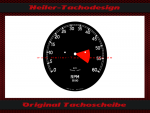Drehzahlmesser 0-60 Rpm Smiths Jaguar E-Type S-Type MARK ll